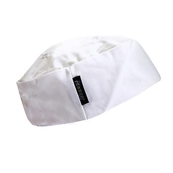 Dennys Ladies/Womens White Skull Cap / Chefswear Caps & Hats  (Pack of 2)