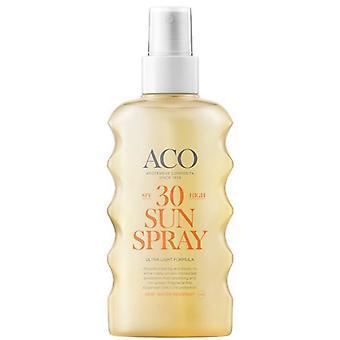 ACO zonne spray SPF 30 175ml