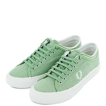 Fred Perry Men's Kendrick Tipped Cuff Brushed Coated Trainers B8265-C60