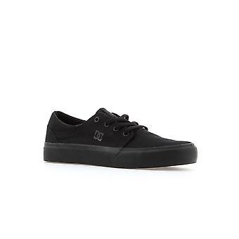 DC Trase TX ADBS3000843BK skateboard todo el año zapatos para niños