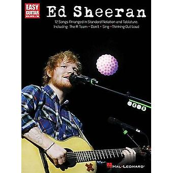 Ed Sheeran for Easy Guitar by Ed Sheeran - 9781495021862 Book