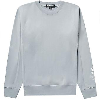 Y-3 Arm Logo Sweatshirt Grey