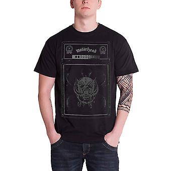 Motorhead T Shirt Amp Stack Speaker Warpig band logo Official Mens Black