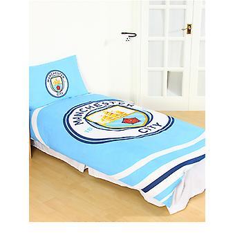 Conjunto de cubierta de duelo de pulsos Manchester City FC