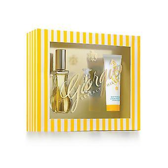 Giorgio Beverly Hills Giorgio jaune Gift Set 50ml EDT + 3,5 ml EDT + 50ml lotion pour le corps