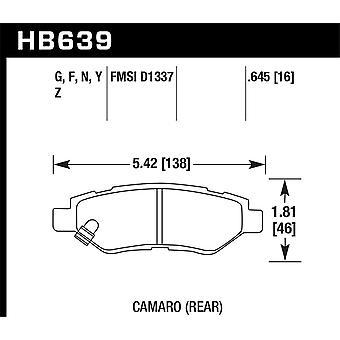 Hawk Performance HB639F. 645 HPS