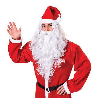 Bristol nyhed unisex voksne Santa/Wizard paryk og skæg