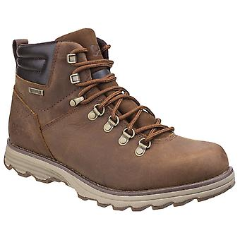 CAT Lifestyle Mens Sire Waterproof Lace Up Boot Brown Sugar