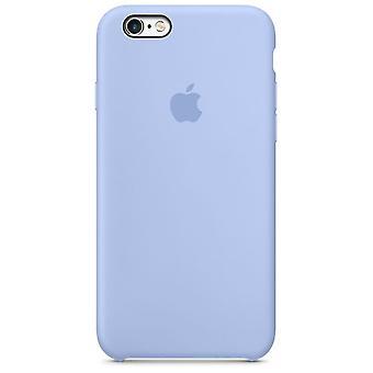 Originalförpackning Apple silikon täcker fallet för iPhone 6 6s flider lila