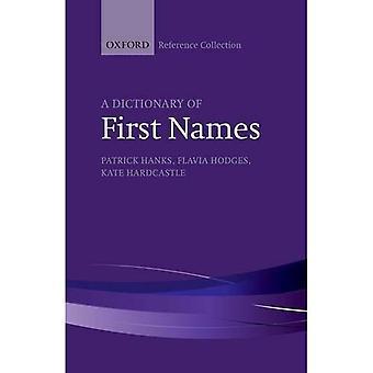 Un diccionario de nombres (la colección de referencia de Oxford)