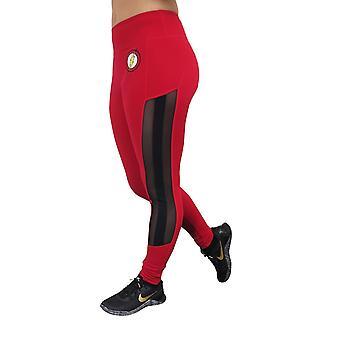 Flash symbool actieve legging met mesh zijkanten