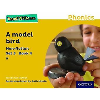 Læse skrive Inc. Phonics - sæt gul 5 Non-Fiction 4 Model fugl af G