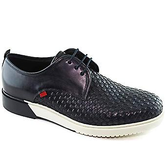 Marc Joseph New York Mens Tribeca Leather Low Top Lace Up Fashion Sneakers