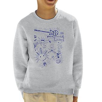 Zits Biro Doodle Collection Kid's Sweatshirt