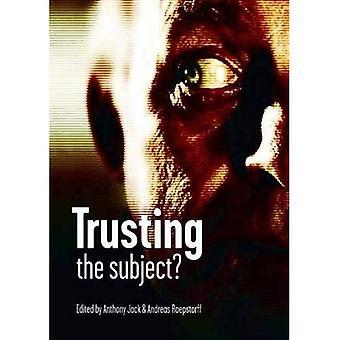 Vertrauen das Thema?
