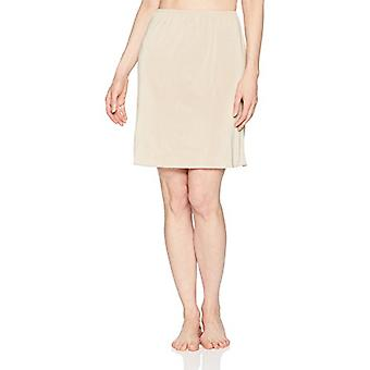 Jones NY Women's Silky Touch 19 Anti-Cling Above Knee Half Slip, Nude, L