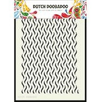 Dutch Doobadoo A5 Mask Art Stencil - Floral Waves 470.715.125