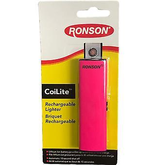 Ronson CoiLite USB wiederaufladbare Feuerzeug, erhalten zufällige verschiedene Farbe #40544