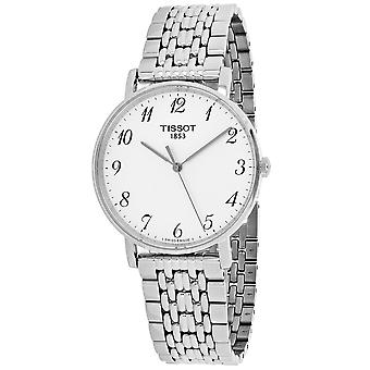 Tissot Men's T-Classic Silver Dial Watch - T1094101103200