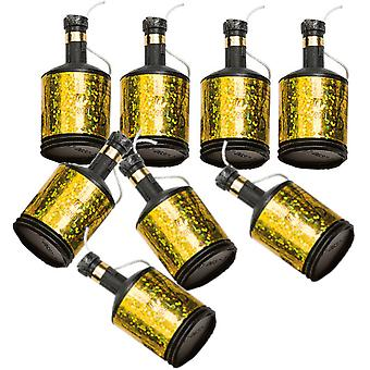 Party Poppers | Party Poppers | Confettibomber Gold 8-pack
