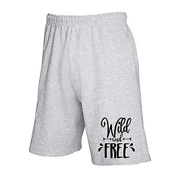 Pantaloncini tuta grigio dec0173 incantesimo libero e selvaggio