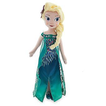 Disney congelato Gelo Elsa 50cm Peluche Bambola Ripieno Tessuto Morbido