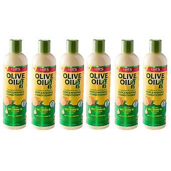 Organic Root Stimulator Olive Oil Replenishing Conditioner 362ml (6-Pack)