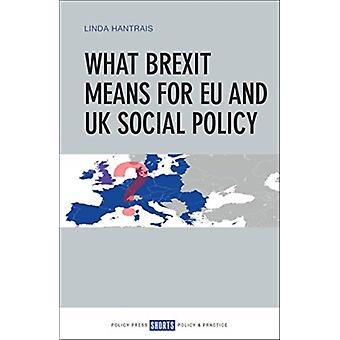 What Brexit Means for EU and UK Social Policy by Linda Hantrais