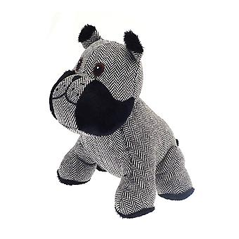 Country Club Bulldog Türstopper, grau