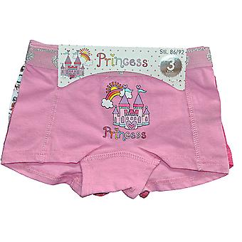 3 pairs of boxer panties 86/92 cl - Princess