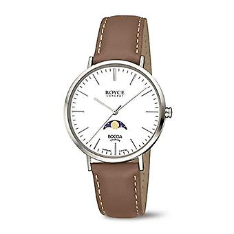 Petanque Analog quartz men's watch with leather 3611-01