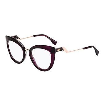 Fendi Tropical Shine FF0334 0T7 Plum Glasses