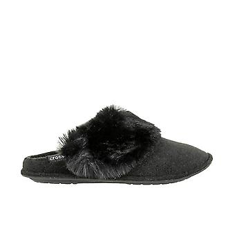 Crocs Classic Luxe Slipper 205394001 universal ganzjährig Damenschuhe