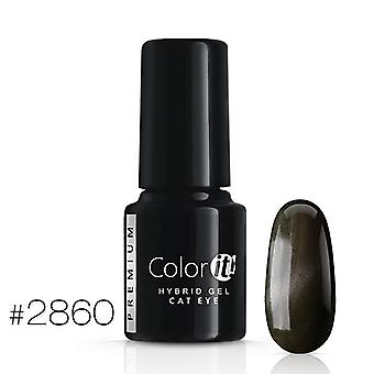 Gellack-Color IT-Premium-Cat Eye-* 2860 UV Gel/LED