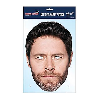 Howard Donald tage denne officielle Tage det kort Part Fancy Dress Mask