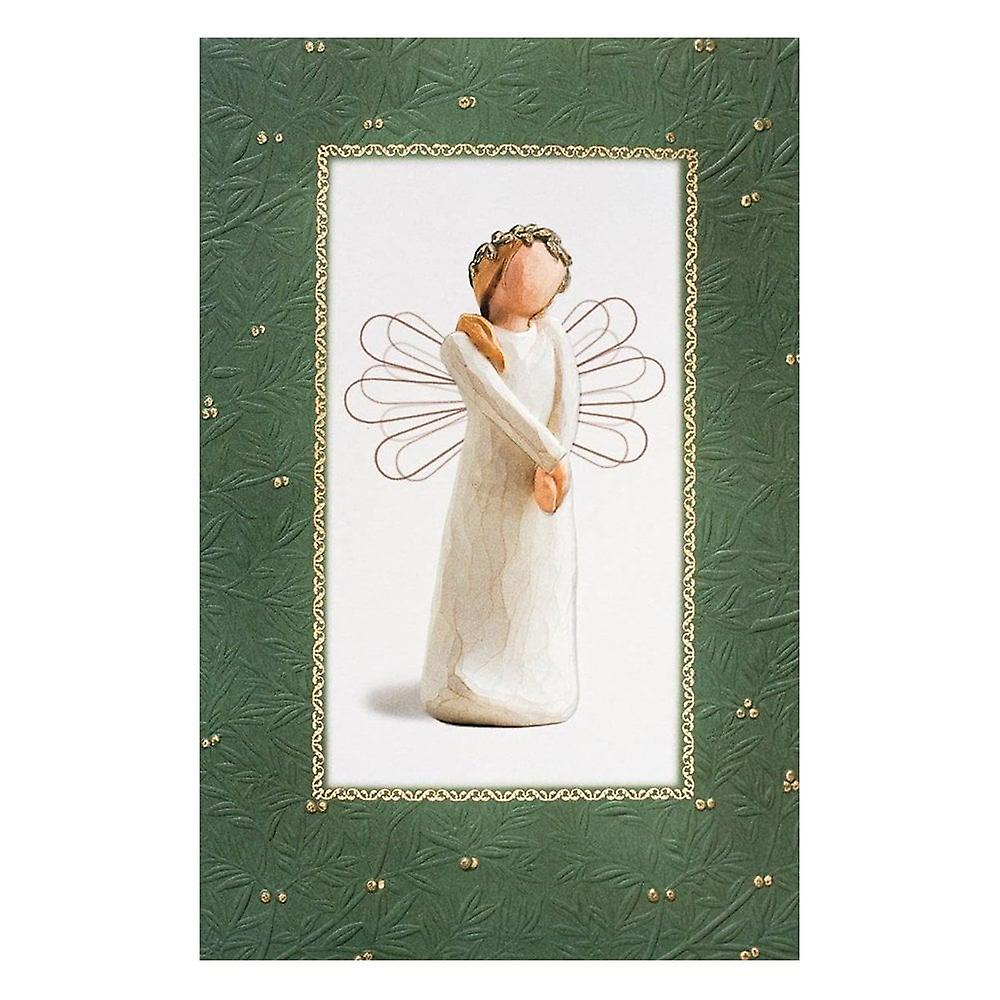 Willow Tree Celebrate Christmas Card With Message