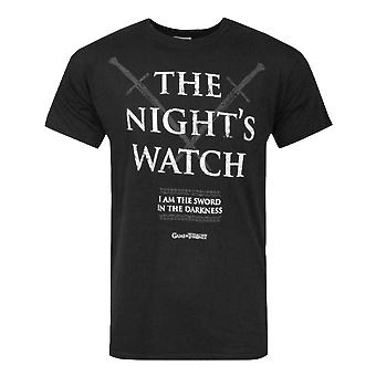 Game Of Thrones Night Watch Men's T-Shirt