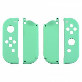 Housing shell for nintendo switch joy-con controller hard casing replacement soft touch - mint green | zedlabz