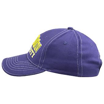 Unisex london university basebal cap blauw