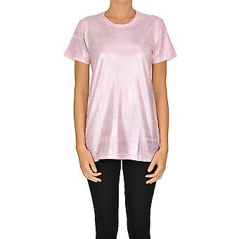 Sweet Matilda Ezgl314031 Women's Pink Cotton T-shirt