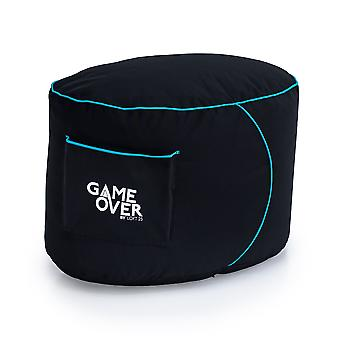 Lich Blade Loft 25 & Game Over&Apos; Gaming Foot Stołek Pouffe Bean Bag Gamer Xbox One PS4 Switch