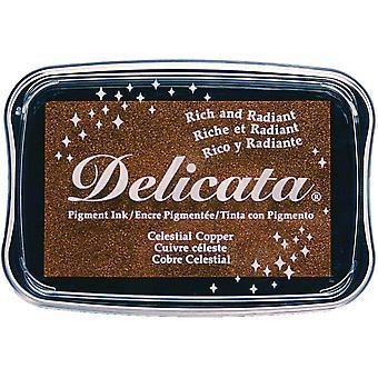 Delicata pigmentti muste Pad-taivaallinen kupari