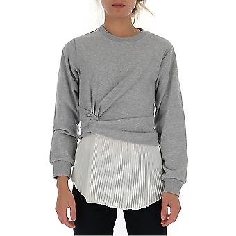 3.1 Phillip Lim 1959ftygr049 Femmes-apos;s Pull en coton blanc/gris