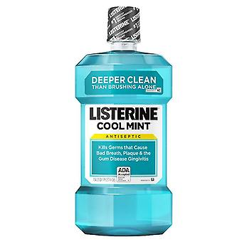 Listerine cool mint antiseptic mouthwash, cool mint, 1.5 l