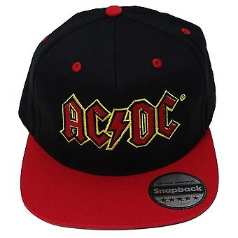 AC/DC unissex adultos clássico logotipo SnapBack Cap