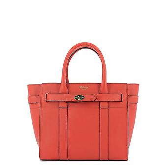 Mulberry Hh6024161l657 Women's Red Leather Handbag