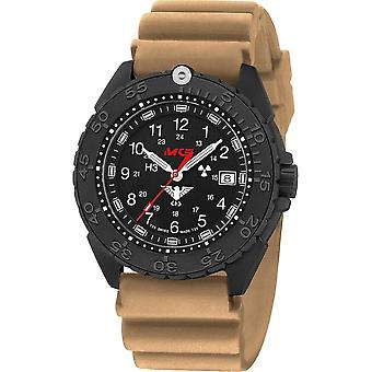 KHS Wristwatch الرجال المنفذ الأسود تيتان CR KHS. ENFBTCR. الألمانية