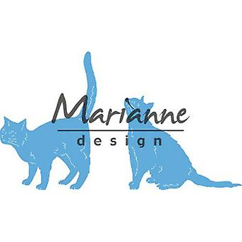 Marianne Design Creatable Tiny-apos;s chats LR0591 43x62 -52x42mm