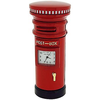 Miniature Red Letter box Novelty Quartz Movement Collectors Horloge 0124