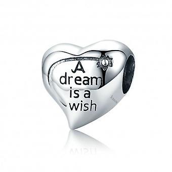 Sterling Silber Charm Ein Traum Ist Ein Wunsch - 5295